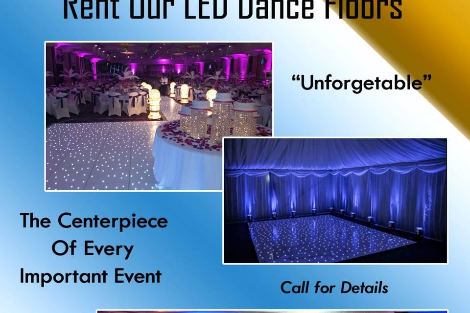 Elegant Fun Lighted Dance Floo