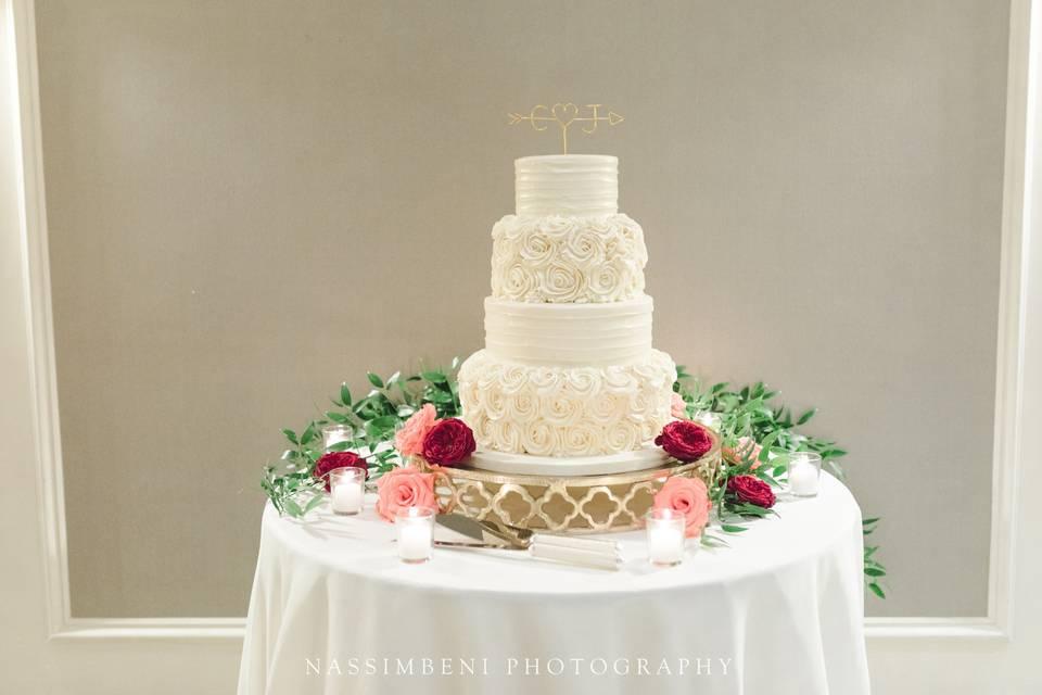 Christine's Wedding Cake
