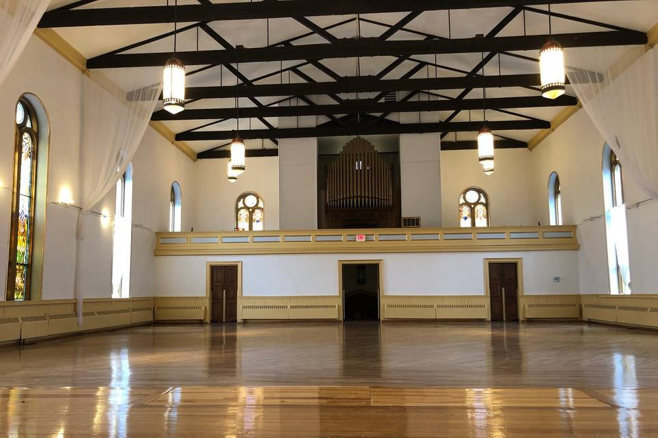 Ballroom when clear