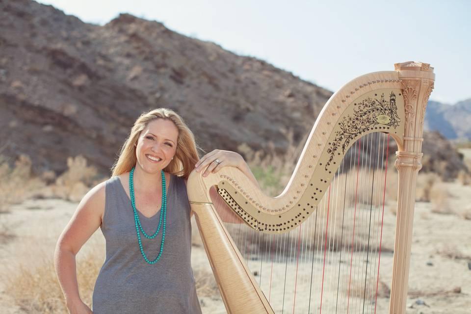 Harpist, Erica Powell