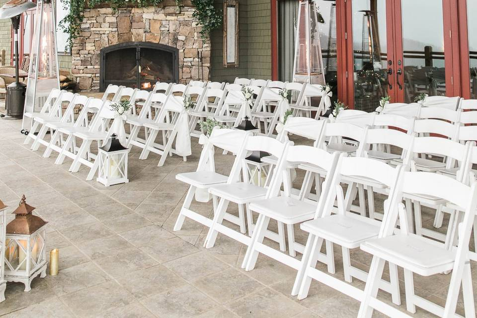 Porch ceremony