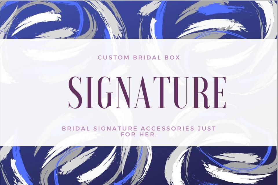 Wedding Signature Box
