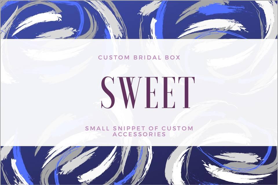 Wedding Sweet Box