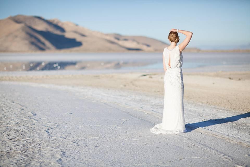 Bridal portrait - Sarah Galli Photography