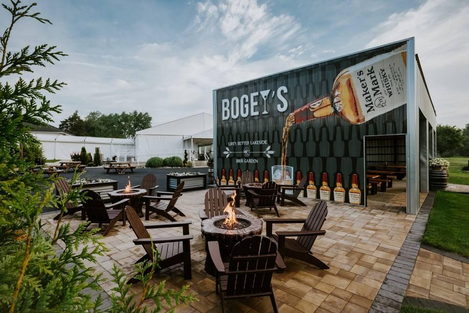 BOGEY'S BOURBON WALL