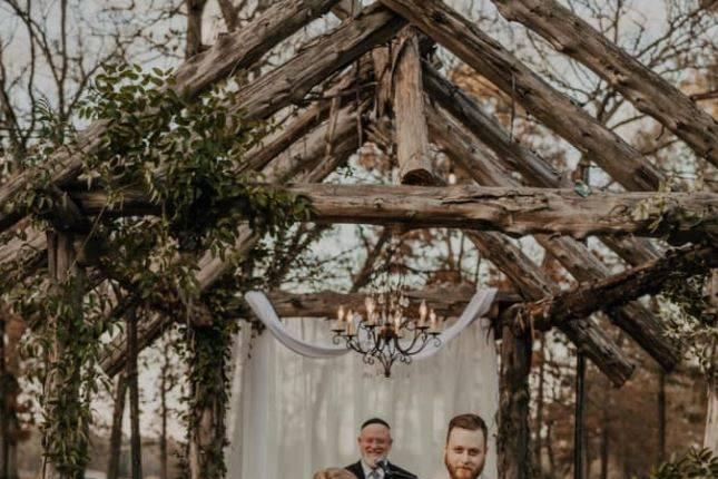 Wedding among Mother Nature