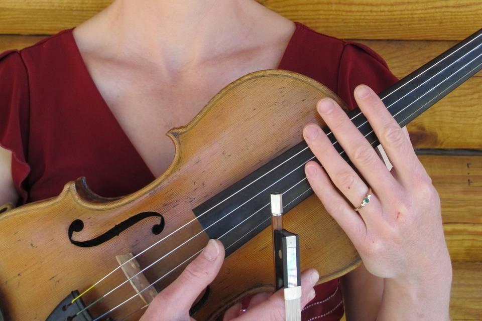 Noelle Hogan, Violinist