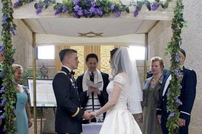Military wedding at West Point