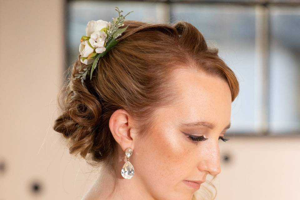 Makeup bride look