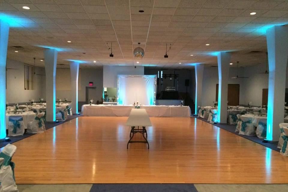 Port Huron Masonic Center Ballroom