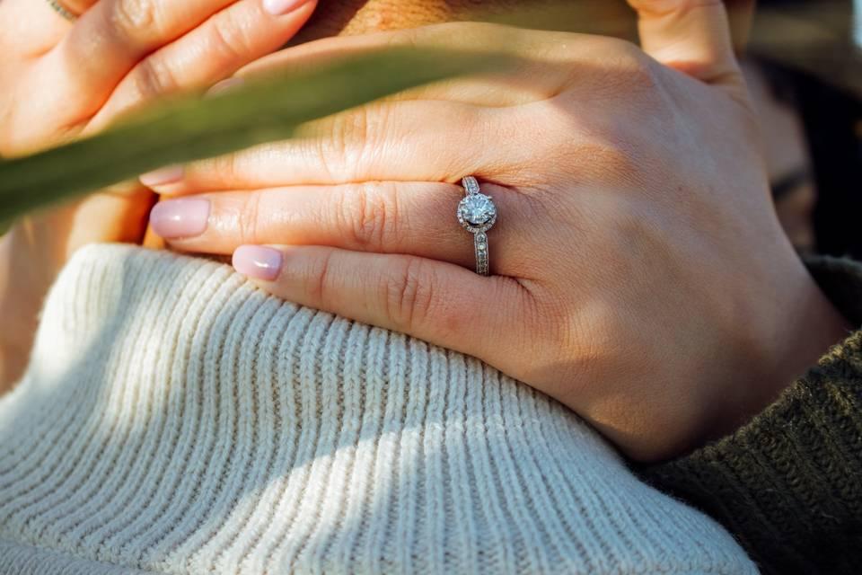 Ring details - October Dusk Photography