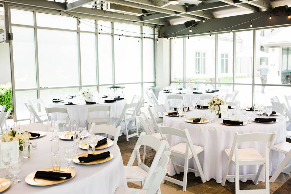 Lovely reception space