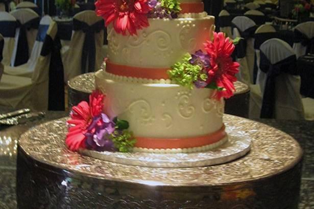 Stylish floral design