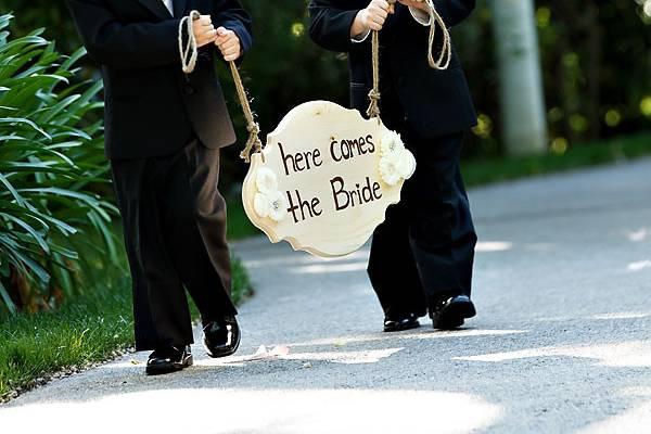 Sign Bearers carrying
