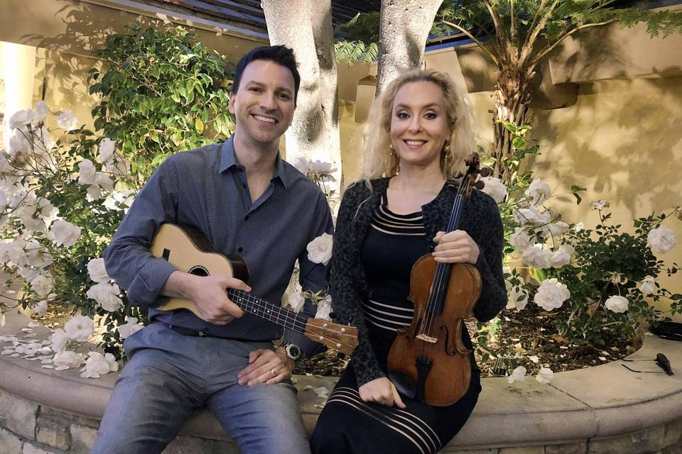 Violin and Ukulele