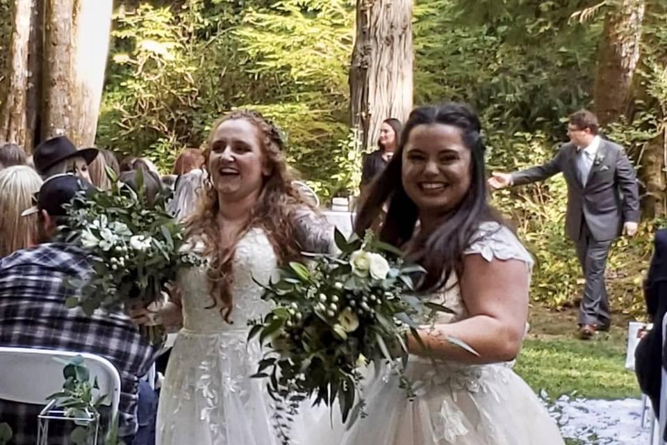 Happy happy Brides....
