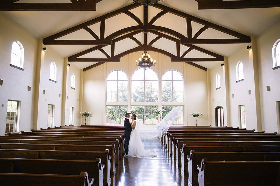 The Chapel at Ana Villa by Walters Wedding Estates
