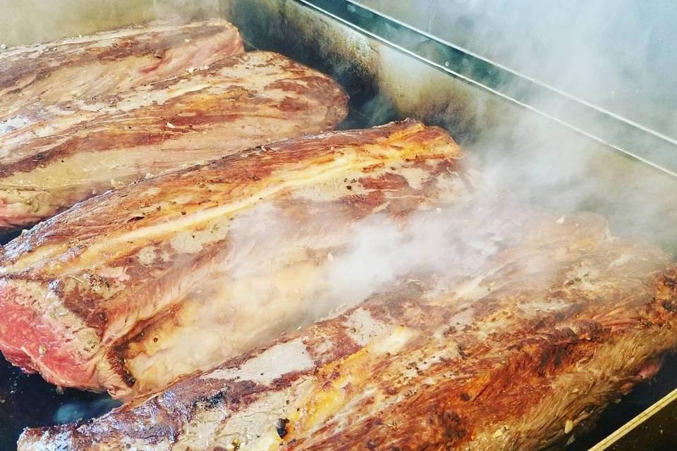 Local Carlson Farms steak