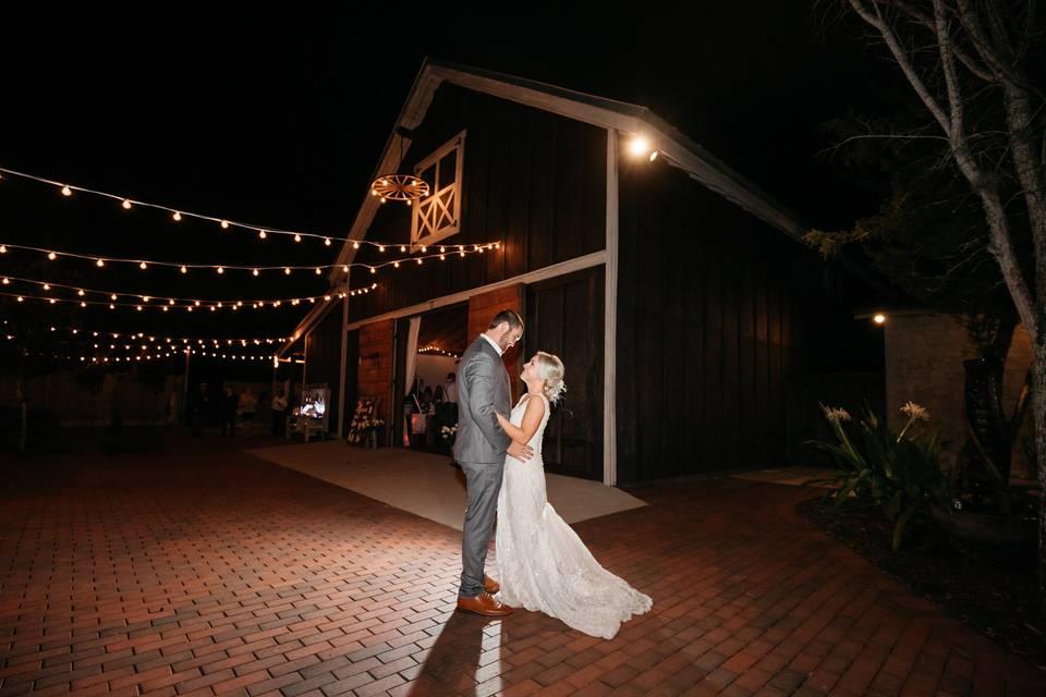Bride and Groom Wedding Night