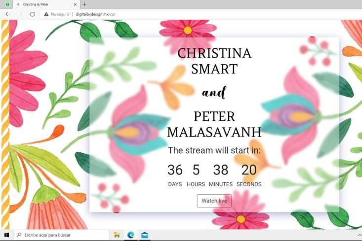 Christina & Peter Countdown
