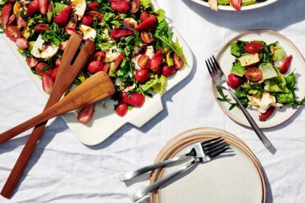 Beautiful bright salads