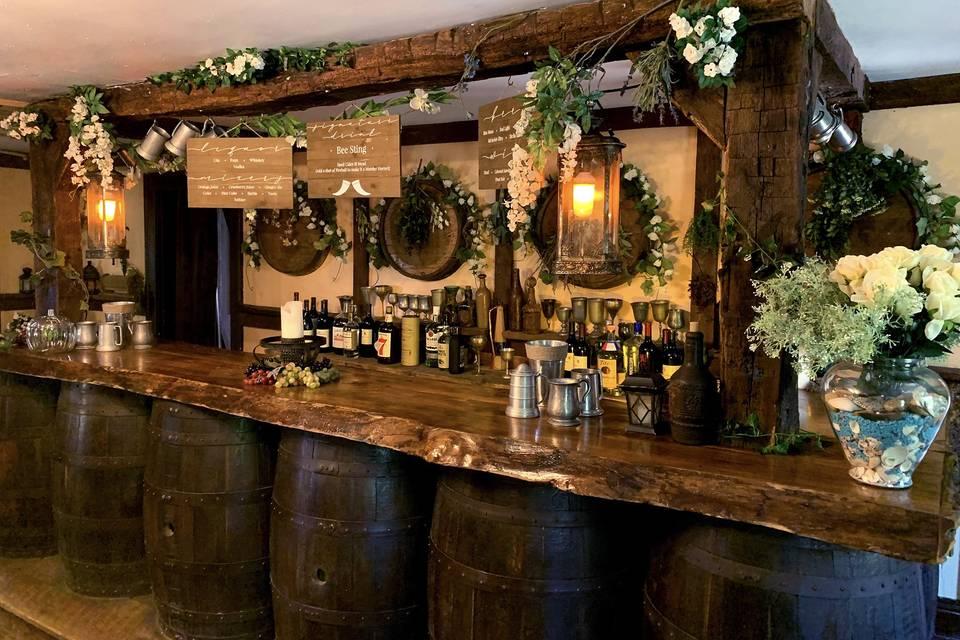 Set up Bar