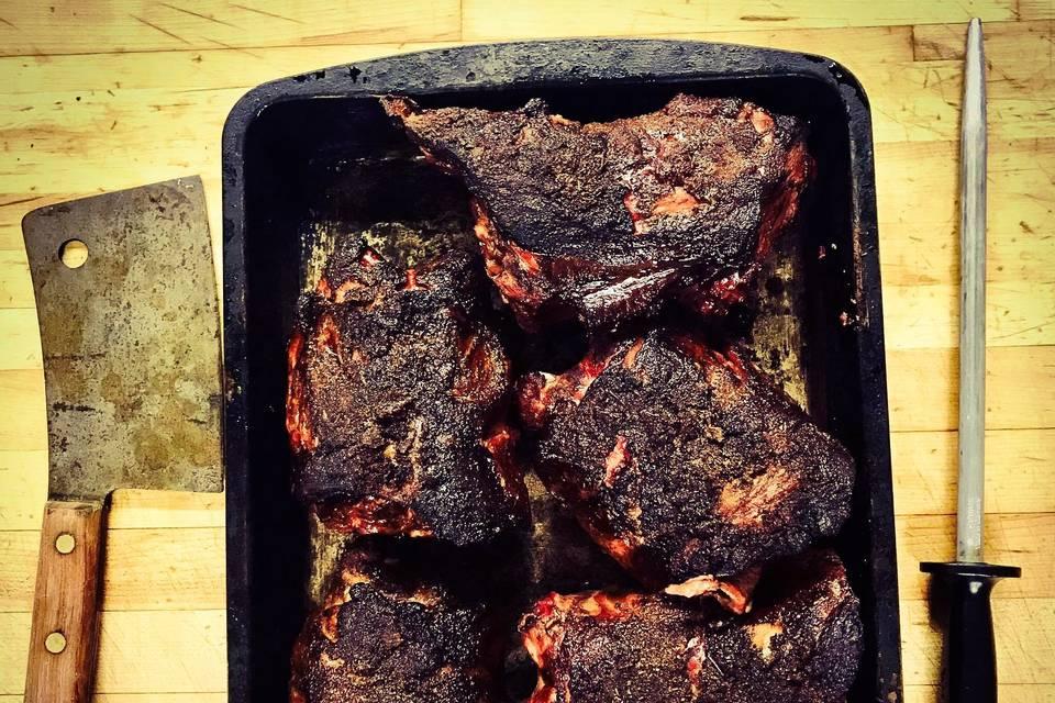 Delicious BBQ dish