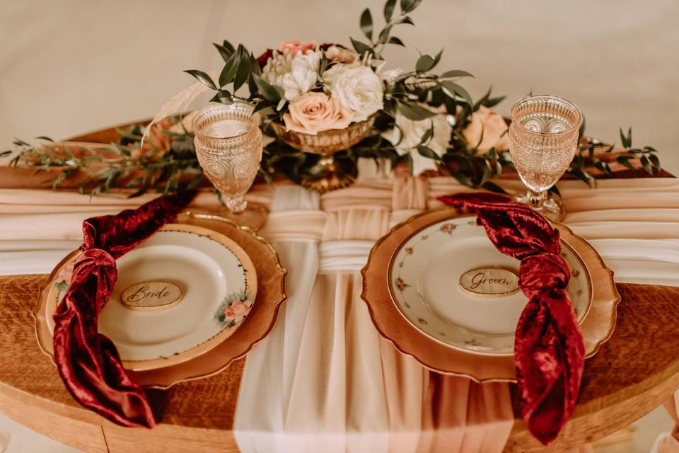 Bridal Table for 2