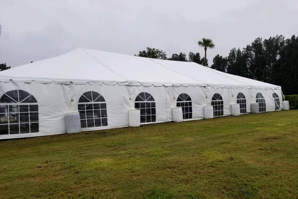Tent available!