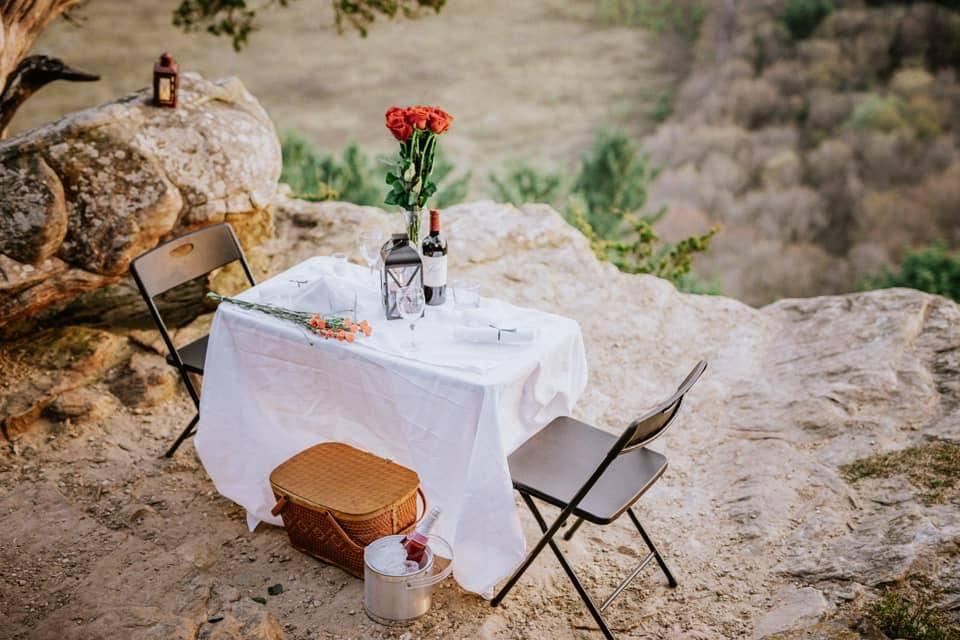 A cute picnic