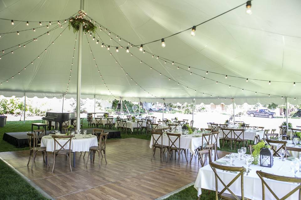 60'x60' Pole Tent
