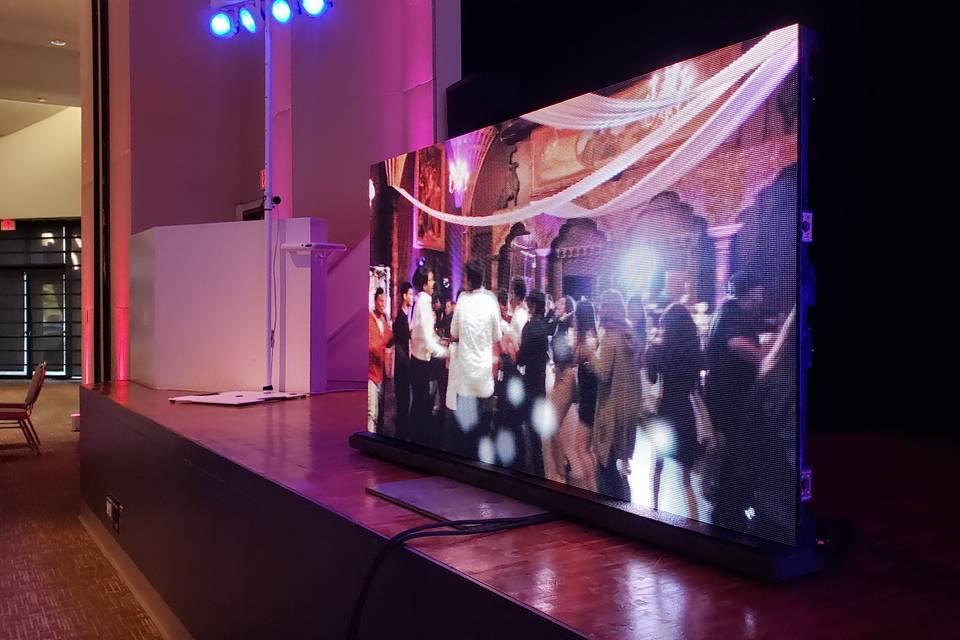LX - Video panel