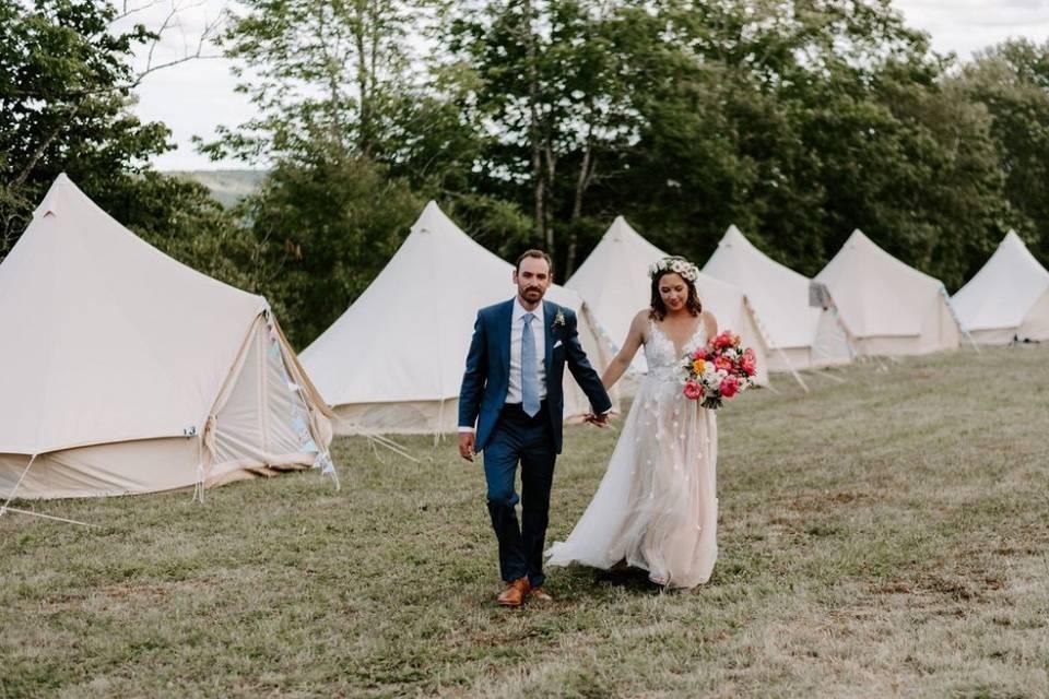 Glamping Wedding