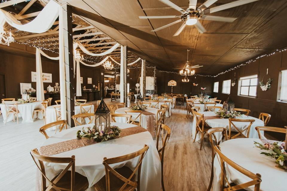 Gorgeous Reception Barn