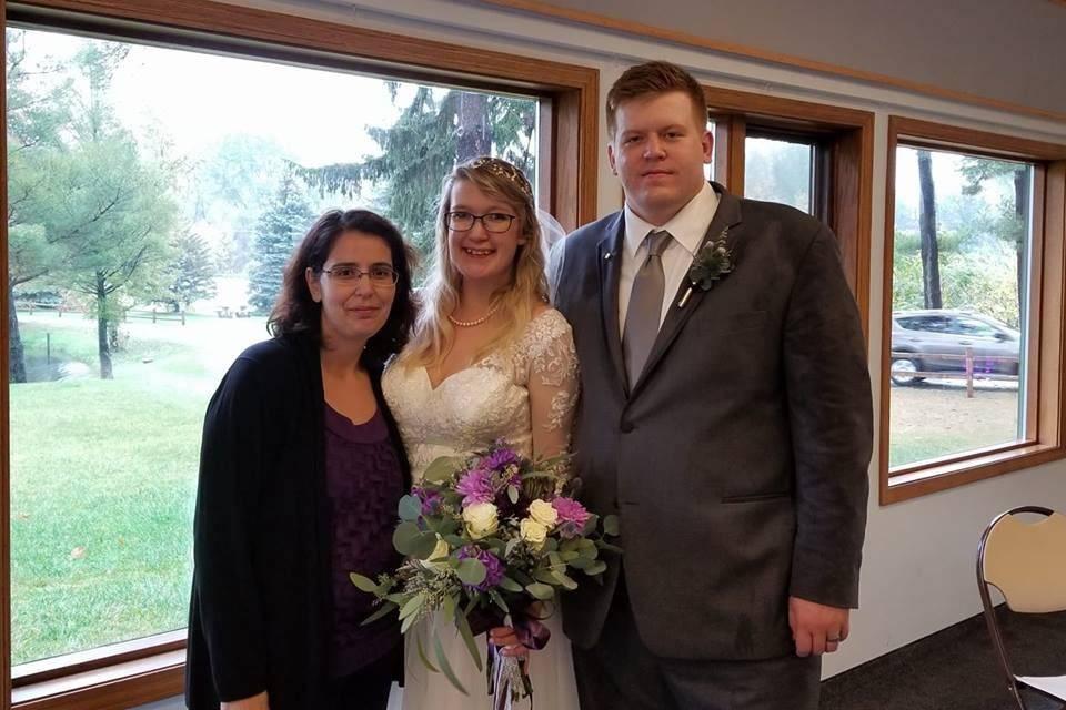 Tina Hall - Wedding Officiant West Michigan