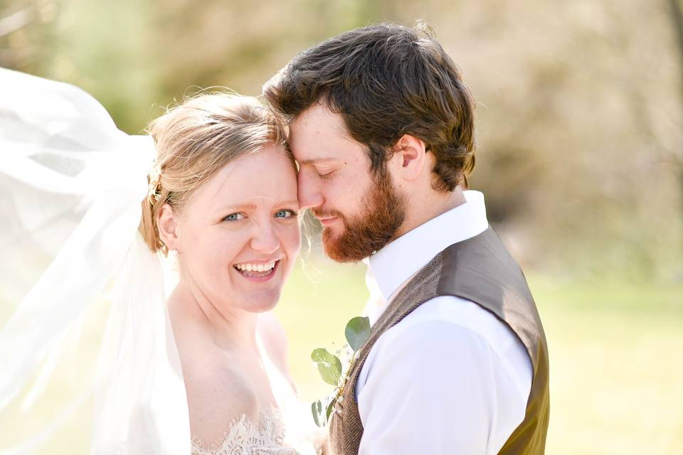 Joy on your wedding day!