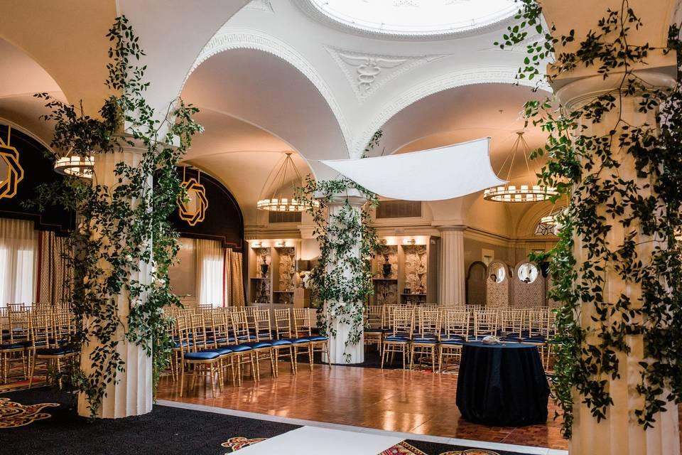 Ceremony in the Paris Ballroom