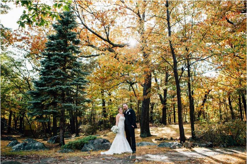 Couple in the forest