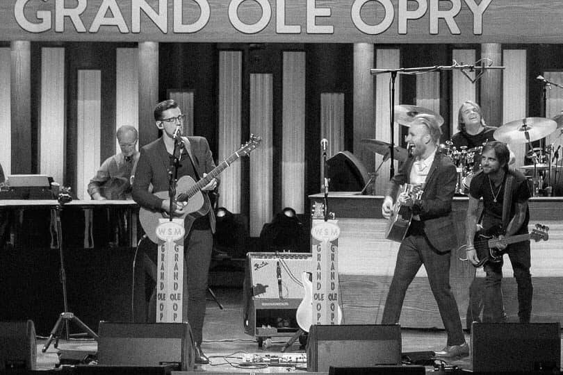 Playing the Grand Ole Opry