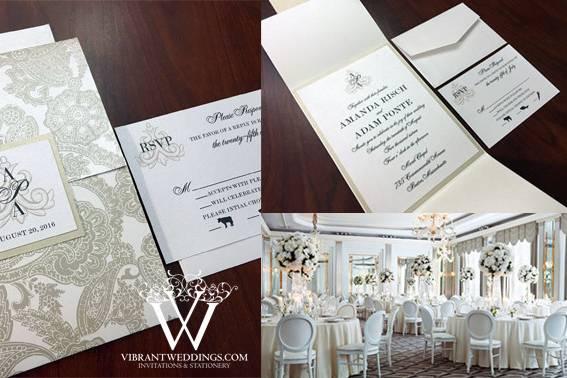 A Vibrant Wedding