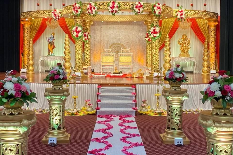 Royal Indian Wedding Mandap