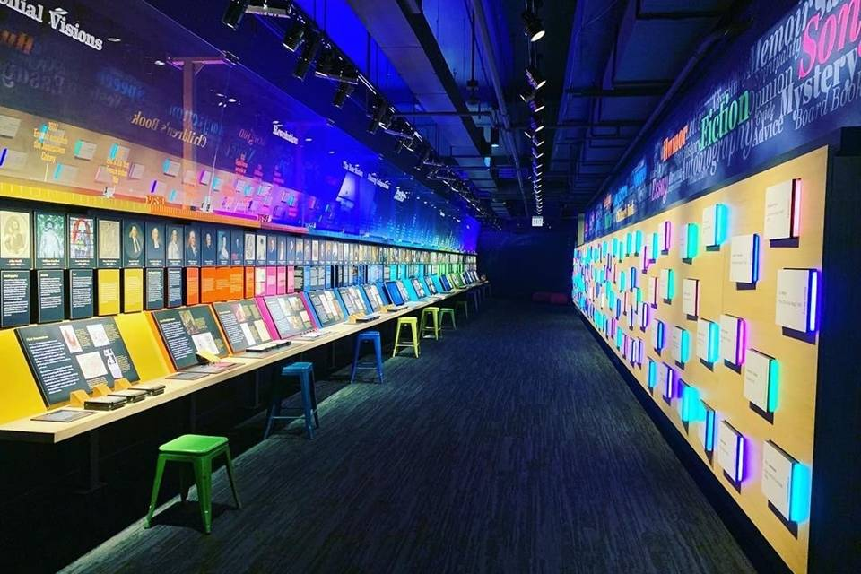 A colorful gallery