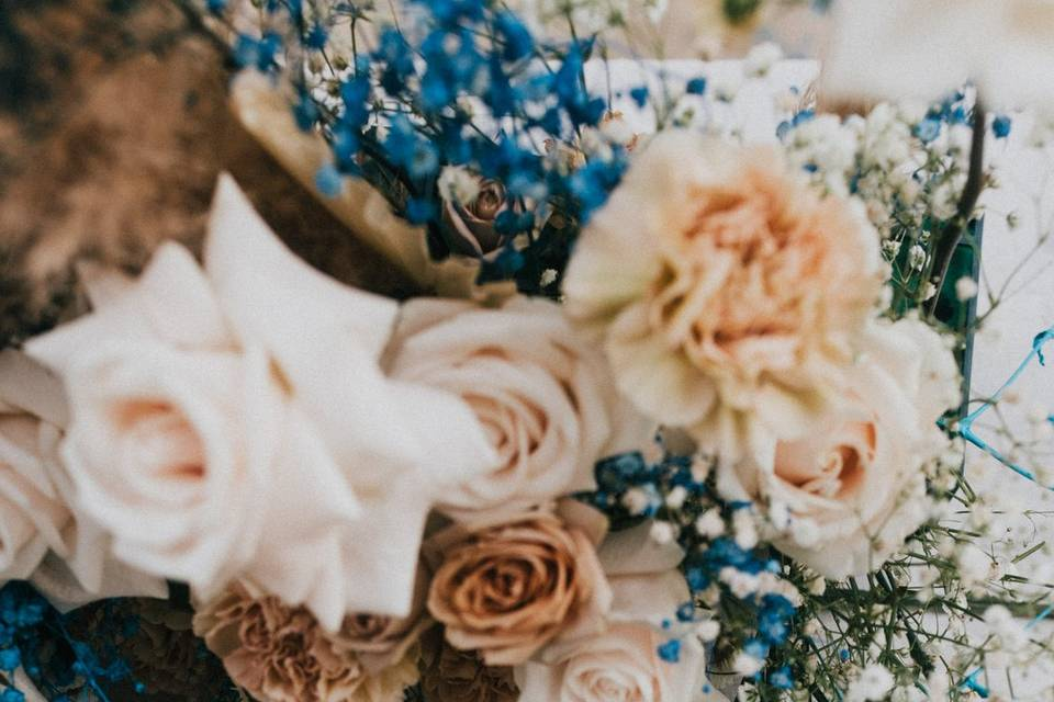 Tabletop decor and floral