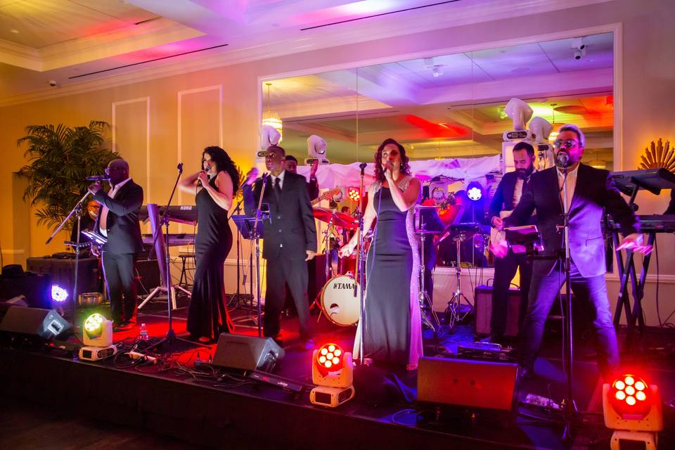 Palm Beach live wedding band