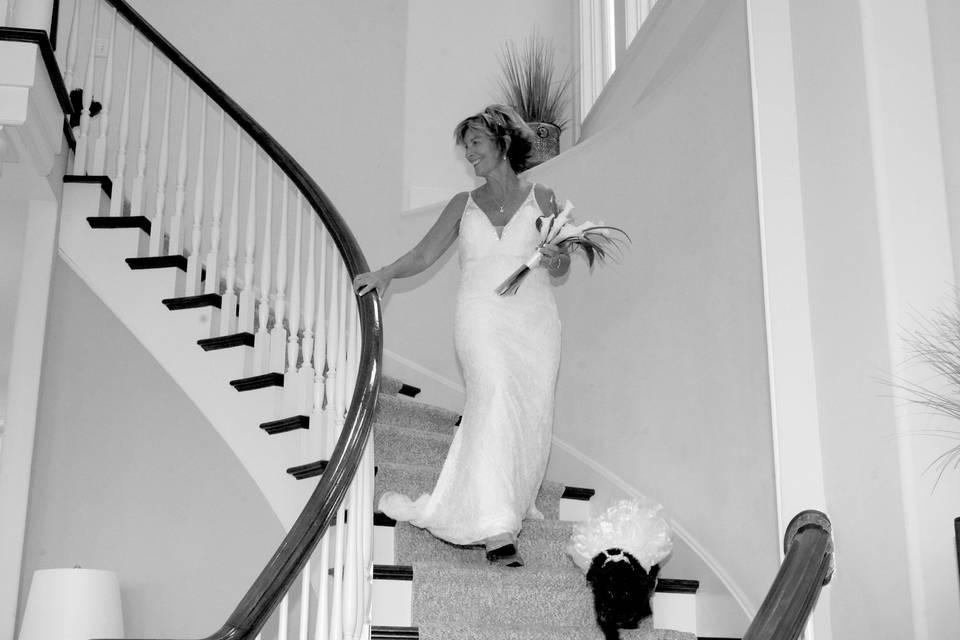 Intimate Indoor Wedding