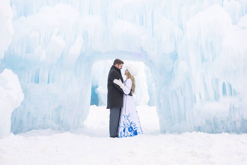 Midway Ice Castles Russian