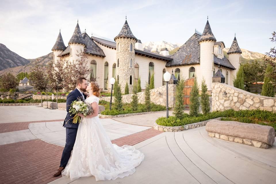 Wadley Farms Castle Wedding