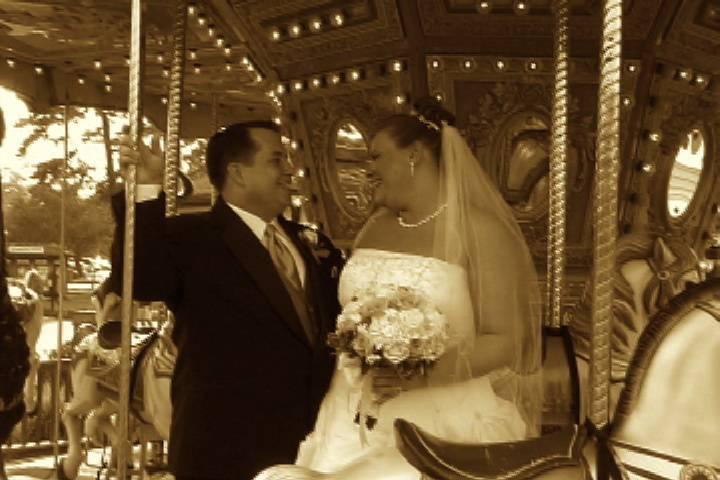 Sepia tones - Martin's Accent Wedding Videos