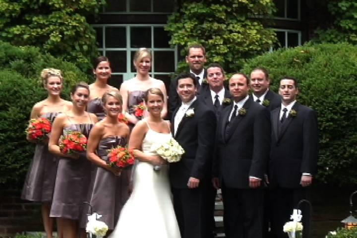 Wedding party - Martin's Accent Wedding Videos