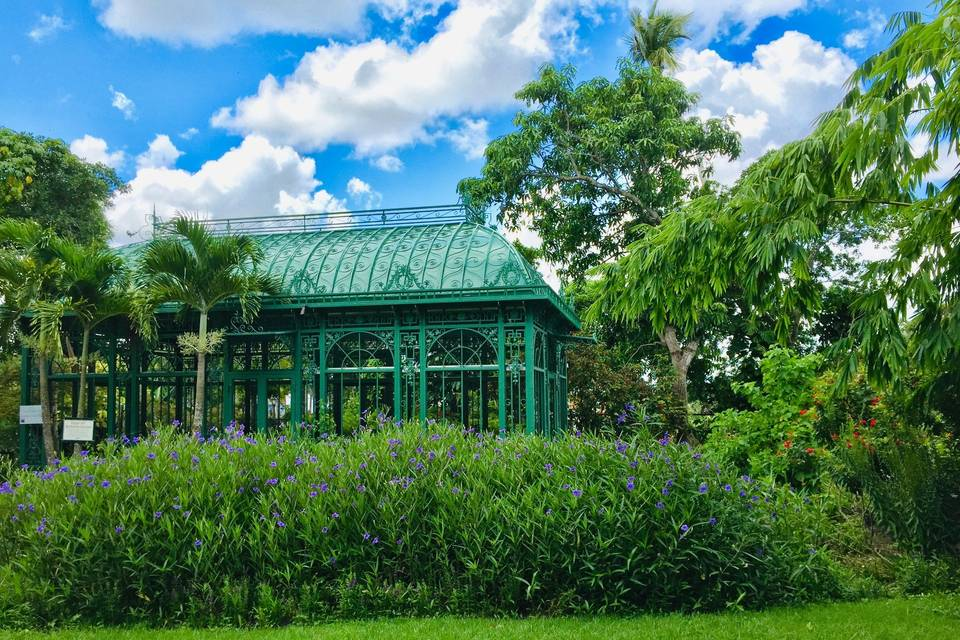 Butterfly and Orchid Pavilion